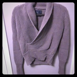 American Eagle Cowl Neck Knit Sweater